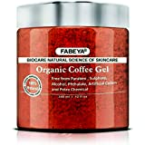 FABEYA BioCare Natural Organic Coffee Gel, No Parabens and Sulphates, 340ml - Set of 1