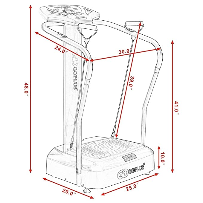 Amazon.com: Goplus - Máquina de gimnasio de ...