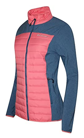 0a7e755896222 Columbia Women s Track Lines Hybrid Light insulated Full Zip Jacket (XS