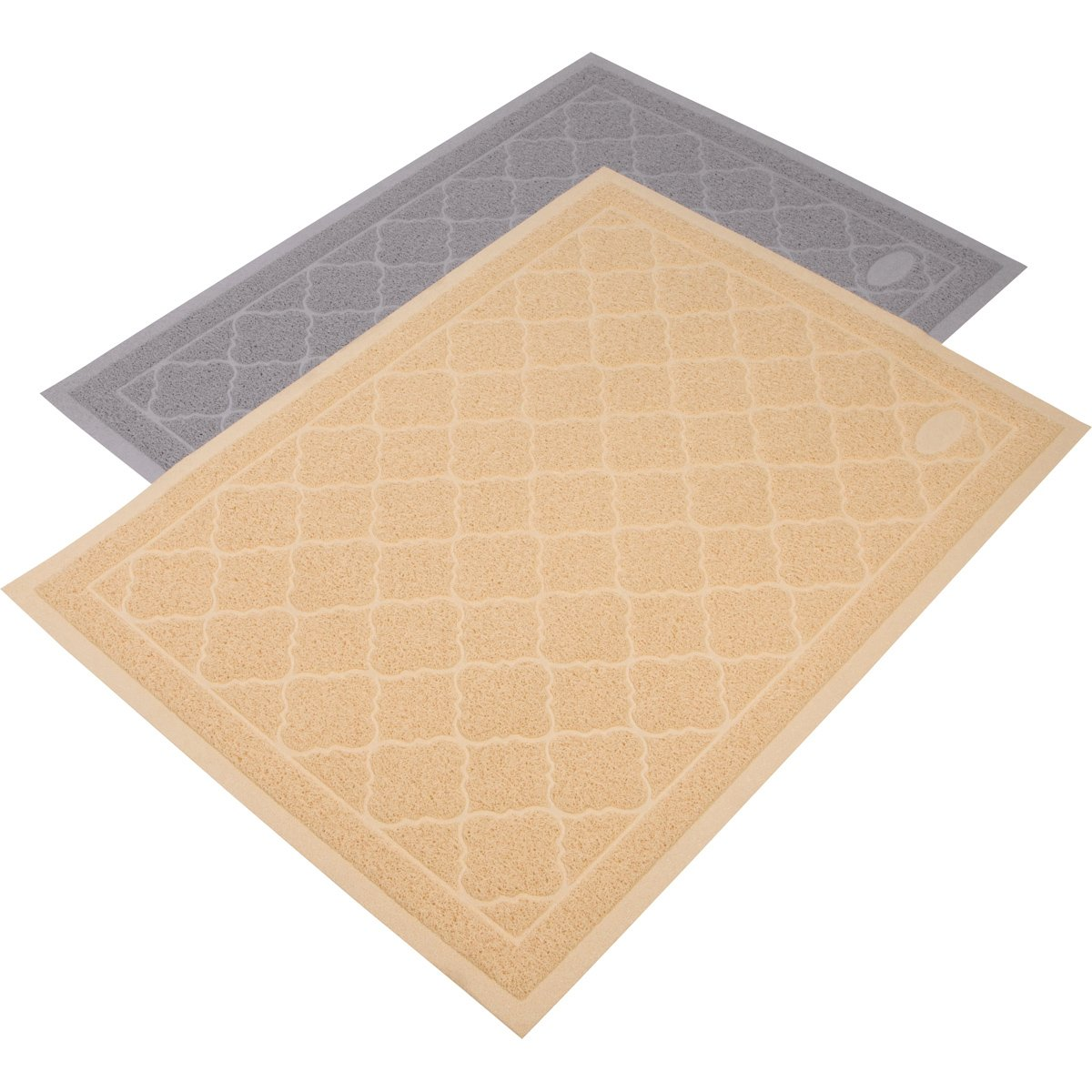 Beige Jumbo (47\ Beige Jumbo (47\ KOONIE Premium Cat Litter Mat, Litter Trapper, Non-Toxic, Non-Slip, Soft on Kitty Paws, Scatter Control, Durable and Easy to Clean, Jumbo Size (47  x 35 ), Beige
