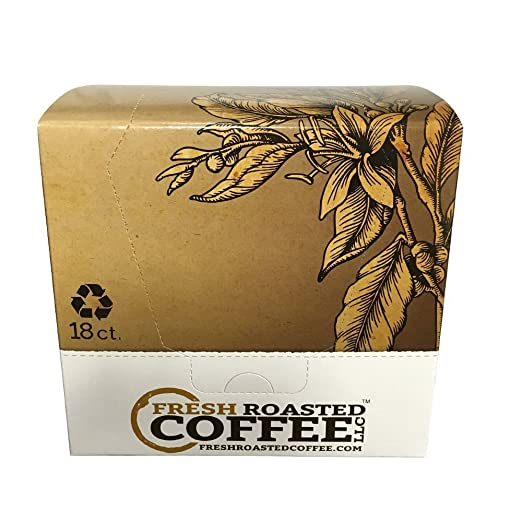 Fresh Roasted Coffee LLC, Ethiopian Yirgacheffe Coffee Pods,