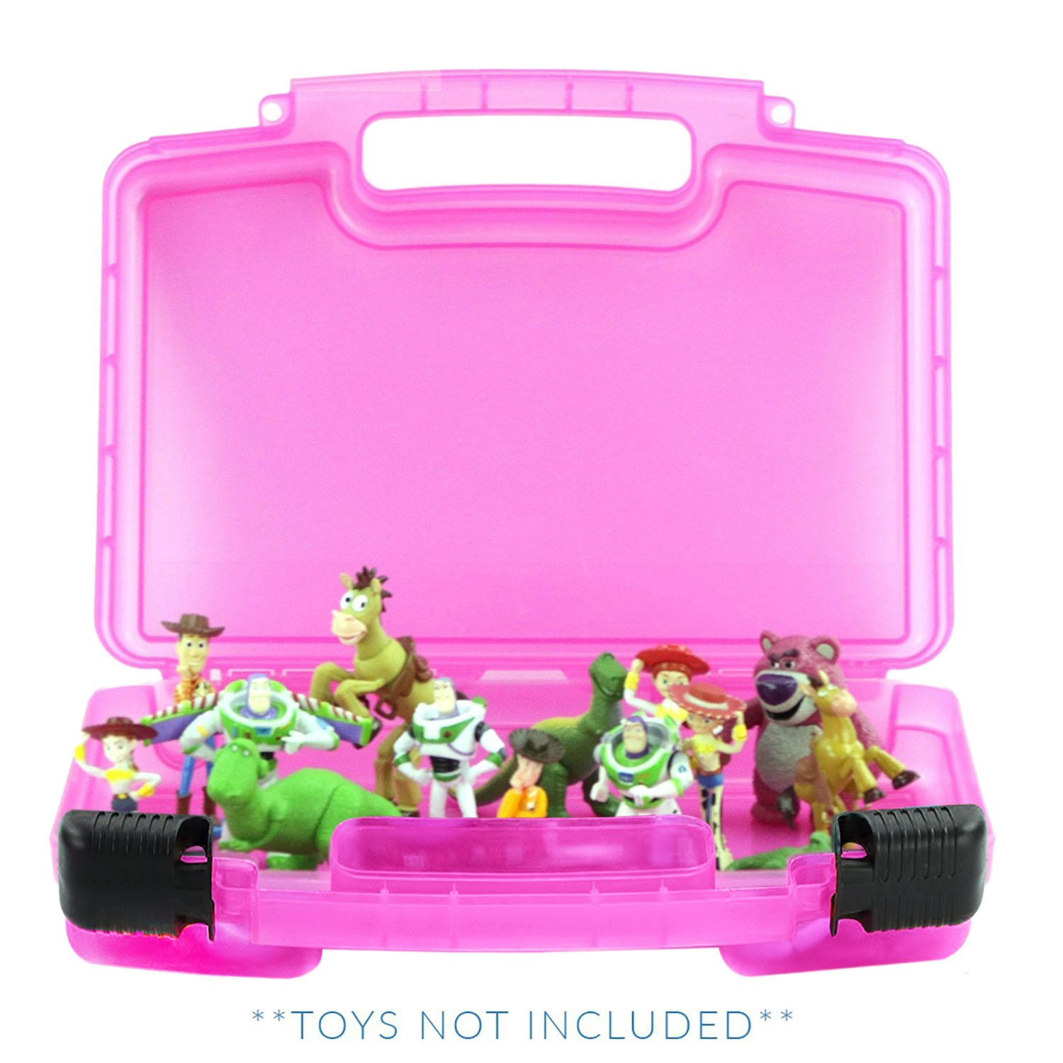 Accessories Kids LMB LMB136 Life Made Better Toy Story Case Toy Storage Carrying Box Figures Playset Organizer