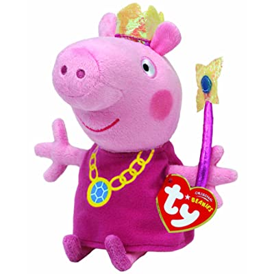 Ty Beanie Babies Princess Peppa Plush: Toys & Games