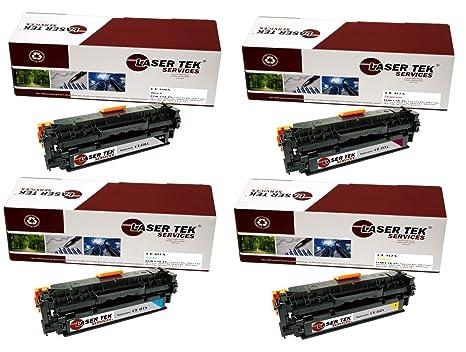 Amazon.com: Laser Tek servicios® HP 305 A Cartuchos de tóner ...