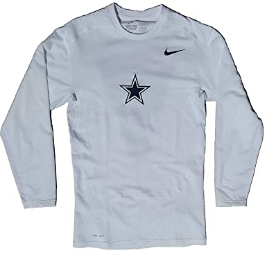 new arrival a6d4f 6668b Amazon.com: Nike Men's Pro Combat NFL Dallas Cowboys Dri-Fit ...