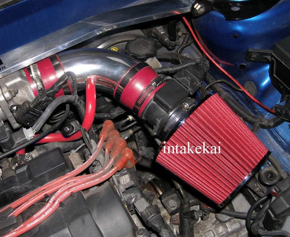 amazon com performance air intake kit filter for 2004 2006 hyundai elantra 2 0l l4 engine 2003 2008 hyundai tiburon 2 7l v6 engine red automotive performance air intake kit filter for 2004 2006 hyundai elantra 2 0l l4 engine 2003 2008 hyundai tiburon 2 7l v6 engine red