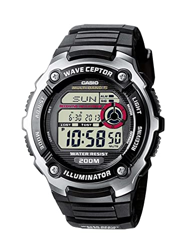 Amazon.com: Casio WV-200E-1AVEF Mens Wave Ceptor Radio Controlled Watch: Watches