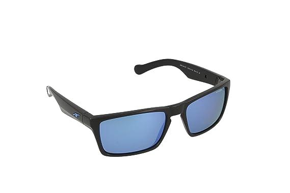 Arnette Specialist AN4204-01 Polarized Rectangular Sunglasses, Black, 58 mm
