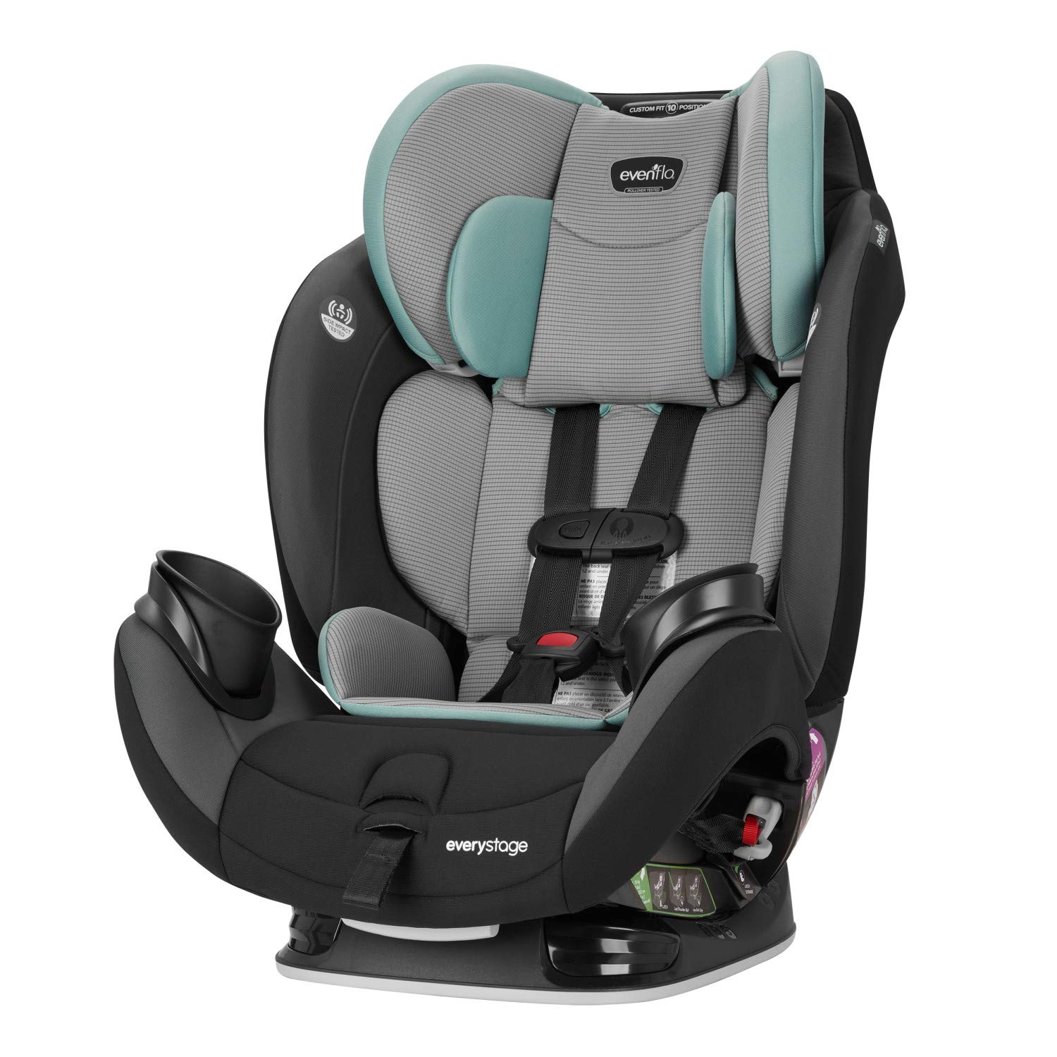 Amazon.com : Evenflo EveryStage LX All-in-One Car Seat