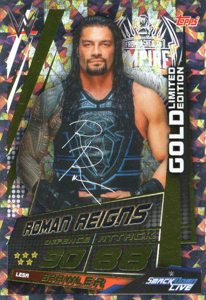 sélectionnez la vôtre Topps WWE SLAM ATTAX 10th édition cartes