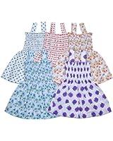 Sathiyas Baby Girls Gathered Dresses` (5)