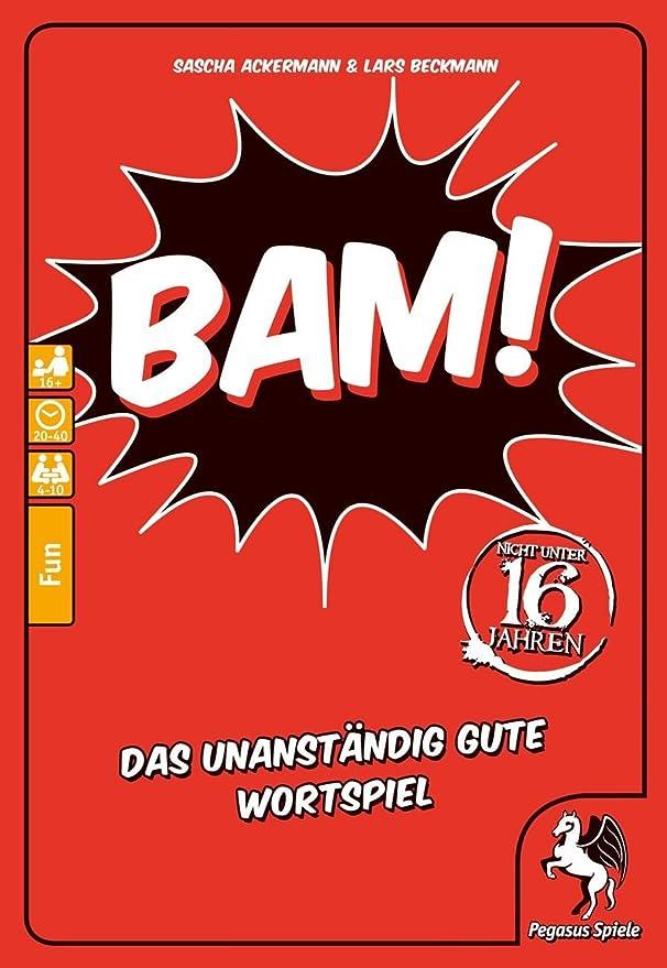 Pegasus Spiele 18302G Bam Ihr habt es so gewollt /&  Spiele 18301G Bam Extrahart