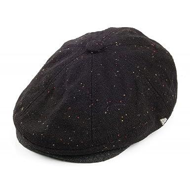 New Era EK Gatsby Newsboy Cap - Black Black XLarge - 60cm  Amazon.co ... 5ab1d2a43705