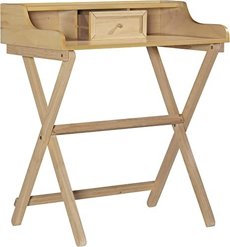 Cheap Linon Home Decor Products Linon Natural Folding Griffin Desk modern office desk for sale