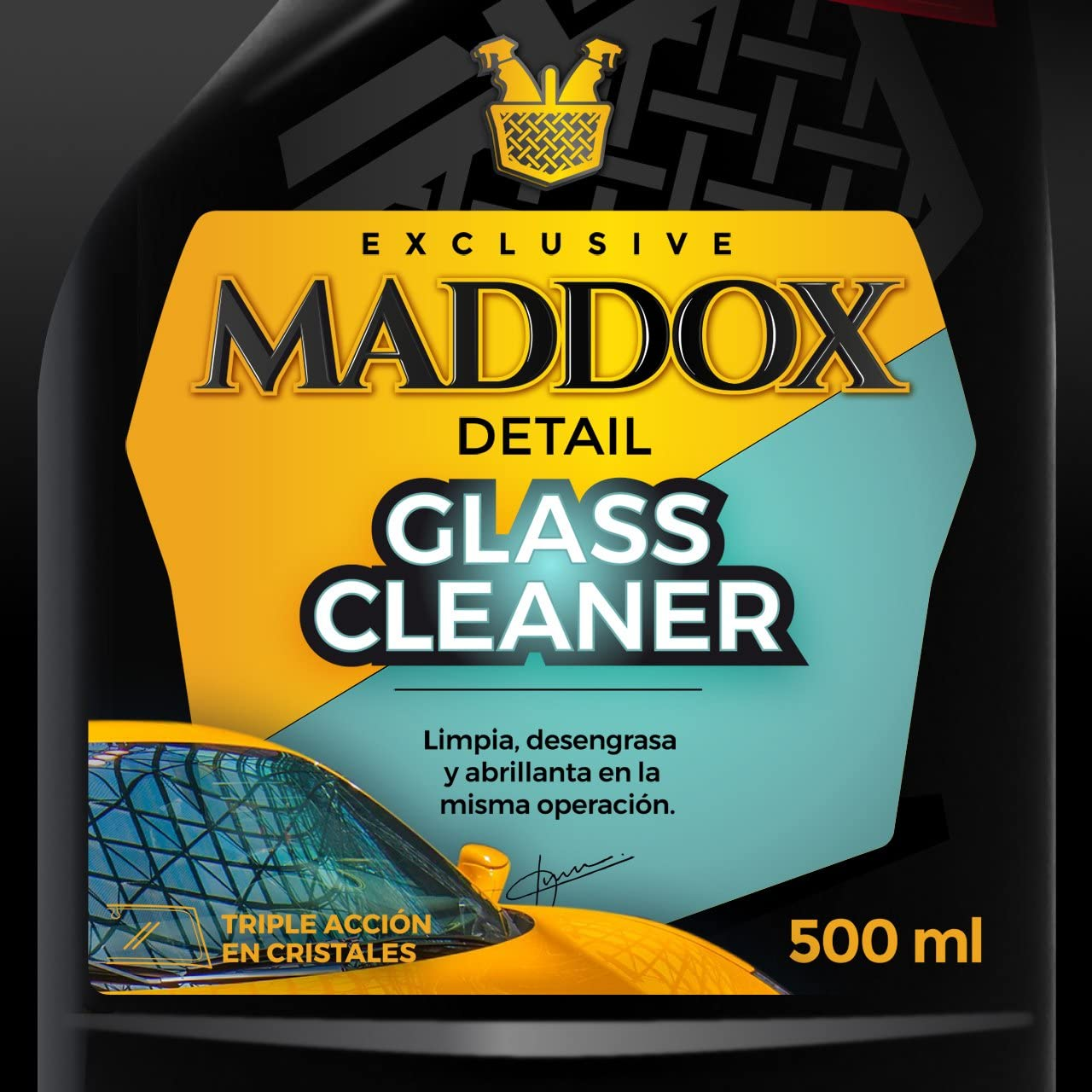 Maddox Detail - Glass Cleaner - Limpiacristales Triple Acción ...