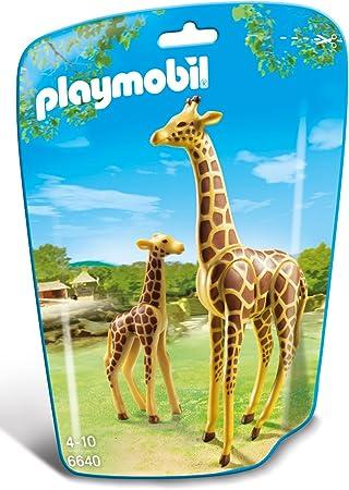 PLAYMOBIL - Jirafa con bebé (66400): Playmobil: Amazon.es: Juguetes y juegos