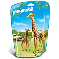 Playmobil City Life Zoo Giraffe with Calf