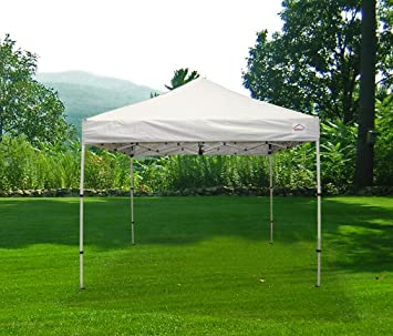 10x10 pop up canopy tent instant shelter vending portable event canopy folds down to 42u0026quot - Outdoor Canopies