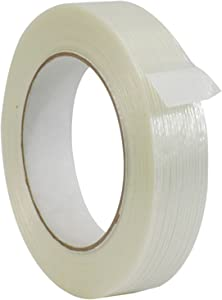 WOD FIL-795 Commodity Grade Fiberglass Reinforced Filament Strapping Tape - Filaments Run Lengthwise (Also Available in Multiple Sizes): 1 in. Wide x 60 yds. (4 Mil) (Pack of 1)