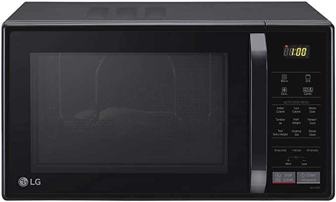 LG 21 L All In One Convection Microwave Oven (MC2146BL, Black)