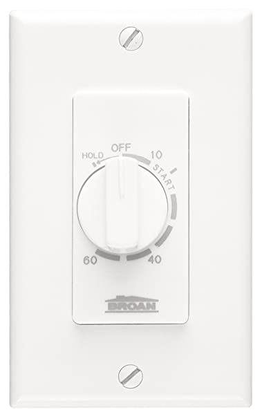Broan P59w 60 Minute Time Control With Continuous On Feature For