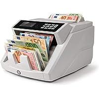 Safescan 2465-S - Contadora totalizadora de billetes, Cuenta billetes de euro mezclados, Detección 7 puntos, Certificada…