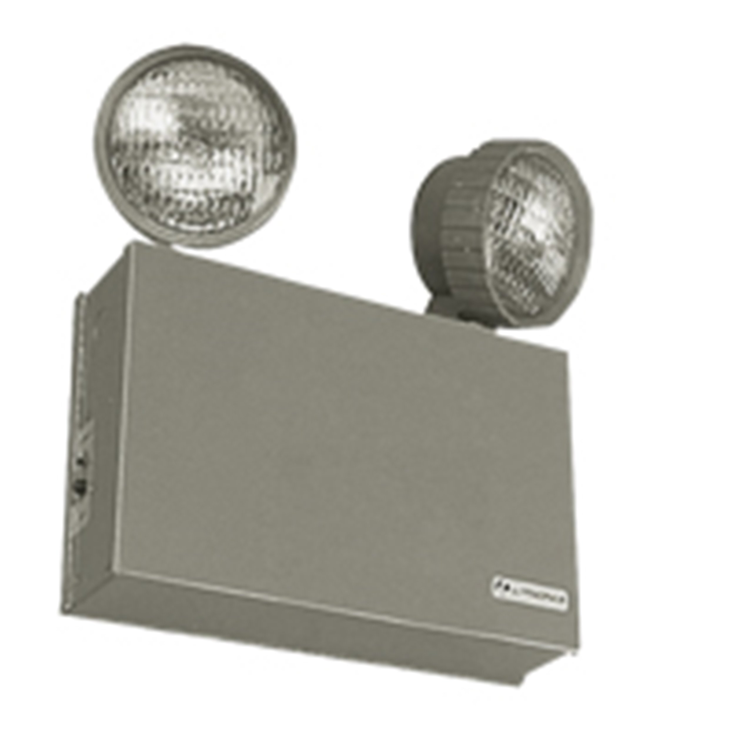 Lithonia Lighting ELT16 16W 6V Steel Emergency Lighting Unit, Beige