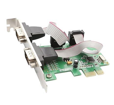 Syba - Tarjeta PCI Express con Placa de Perfil bajo (2 ...