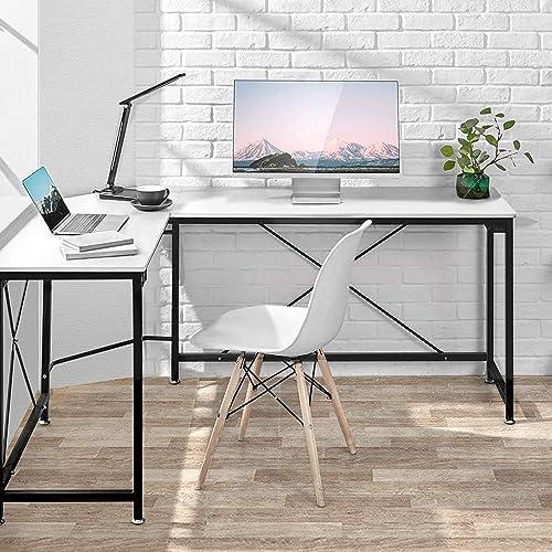 L-Shaped Desk Corner Computer Desk