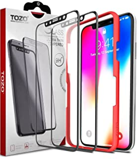 sneakers for cheap aece1 1e460 Amazon.com: TOZO for iPhone X Case, Soft Grip Matte Finish TPU + PC ...