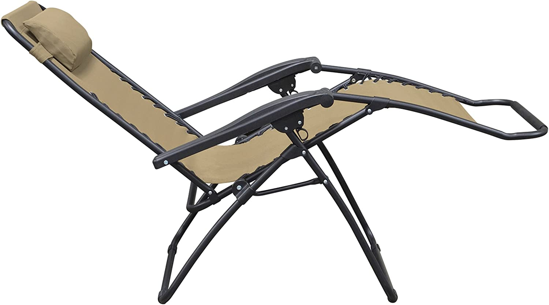 Caravan Sports Infinity Zero Gravity Chair Reclined