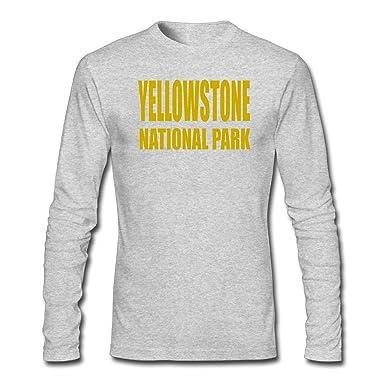 Parco Nazionale Di Yellowstone Manica Lunga T-shirt OuuF6rAtx