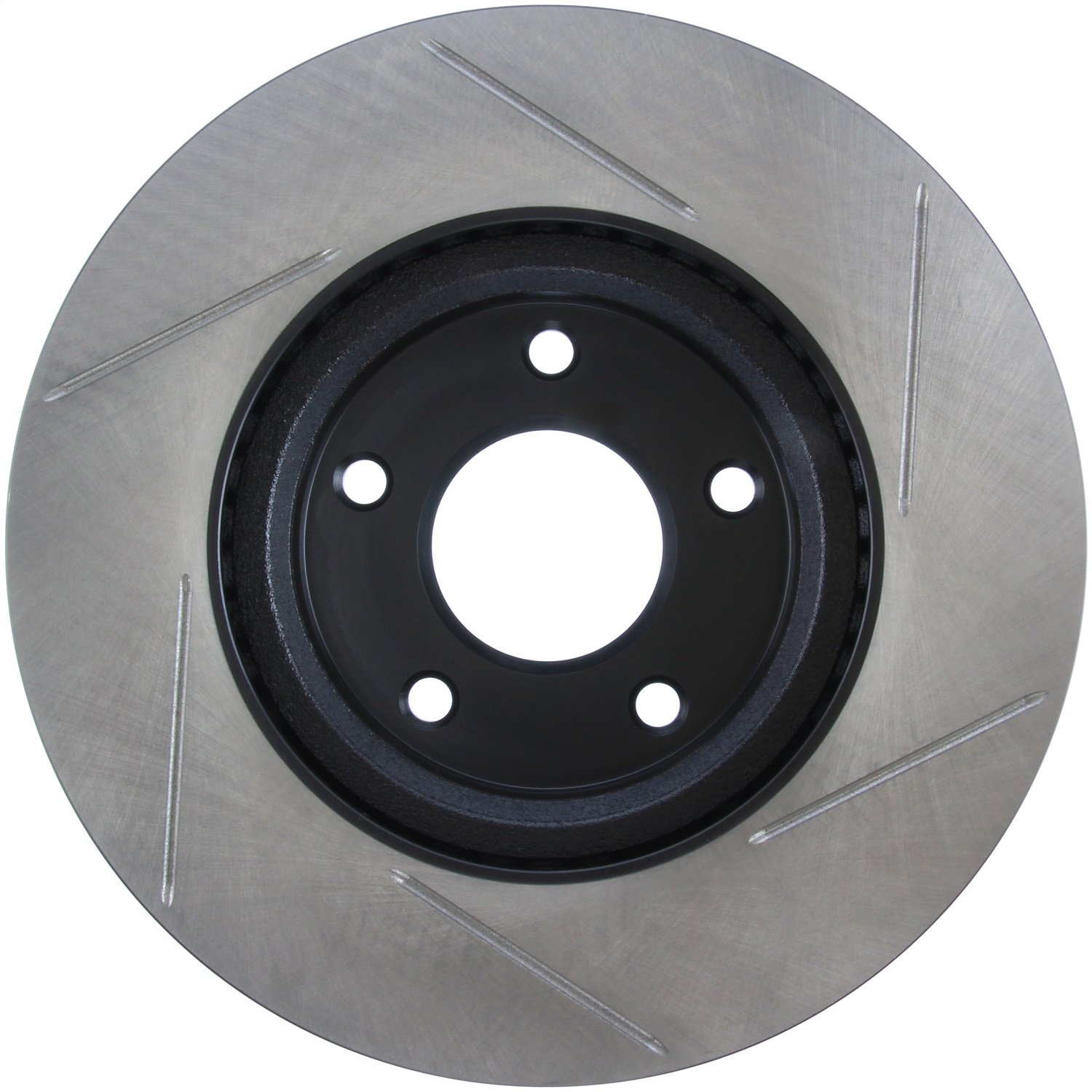 StopTech 126.42118SR Sport Slotted Brake Rotor; Front Right