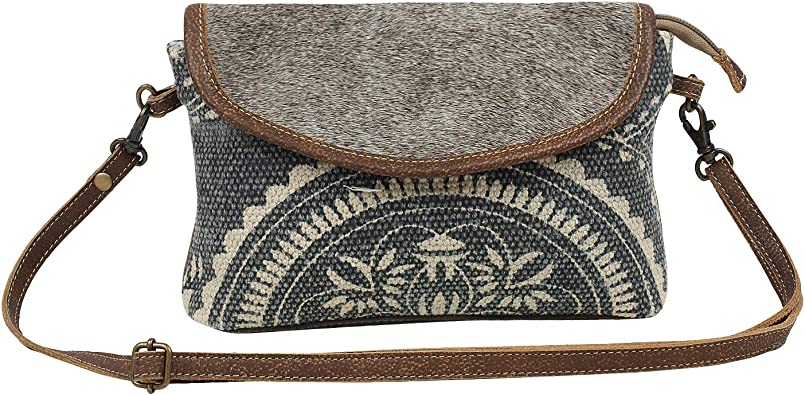 Myra Bag Ancient Arch Upcycled Canvas Cowhide Leather Crossbody Bag S 1568 Handbags Amazon Com The belt bag has shot through the '90s time warp & turned into a modern essential. myra bag ancient arch upcycled canvas cowhide leather crossbody bag s 1568