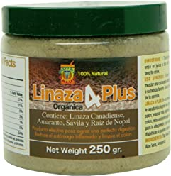 Linaza Organica Combate Estrenimiento, Mala Digestion, Limpieza Del Colon. Formula unica con Linaza