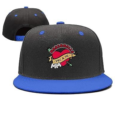 Mars-hmello-You-and-me- Snapback Hats Rock Punk Classic Sport Printing Cap  at Amazon Men s Clothing store  e4eaa569953