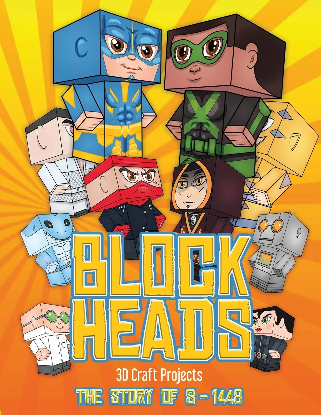 Buy 3d Craft Ideas Block Heads The Story Of S 1448 Each