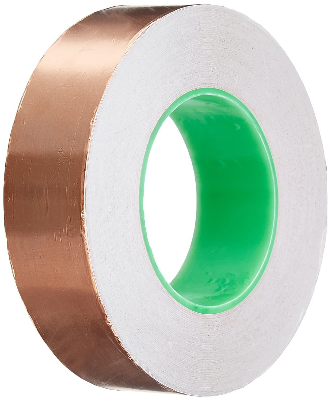 1.5 inch x 55 yds Copper Foil Tape - (38mm x 50m) - EMI Shielding Conductive Adhesive