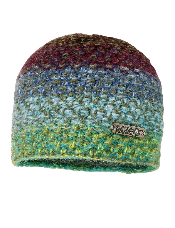 maximo Mädchen Mütze Topfmütze multicolor, mit Label