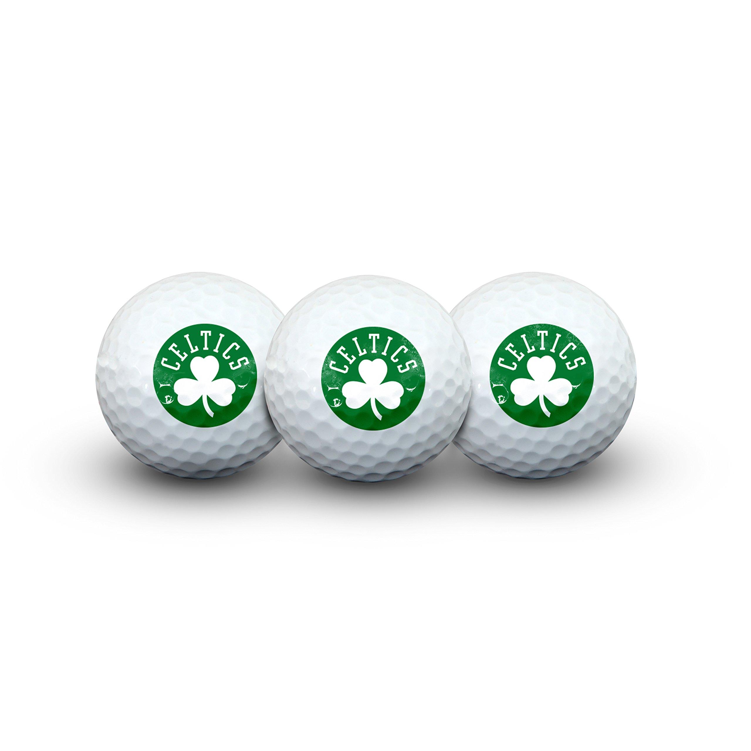 Team Effort NBA Boston Celtics Golf Ball Pack of 3Golf Ball Pack of 3, NA