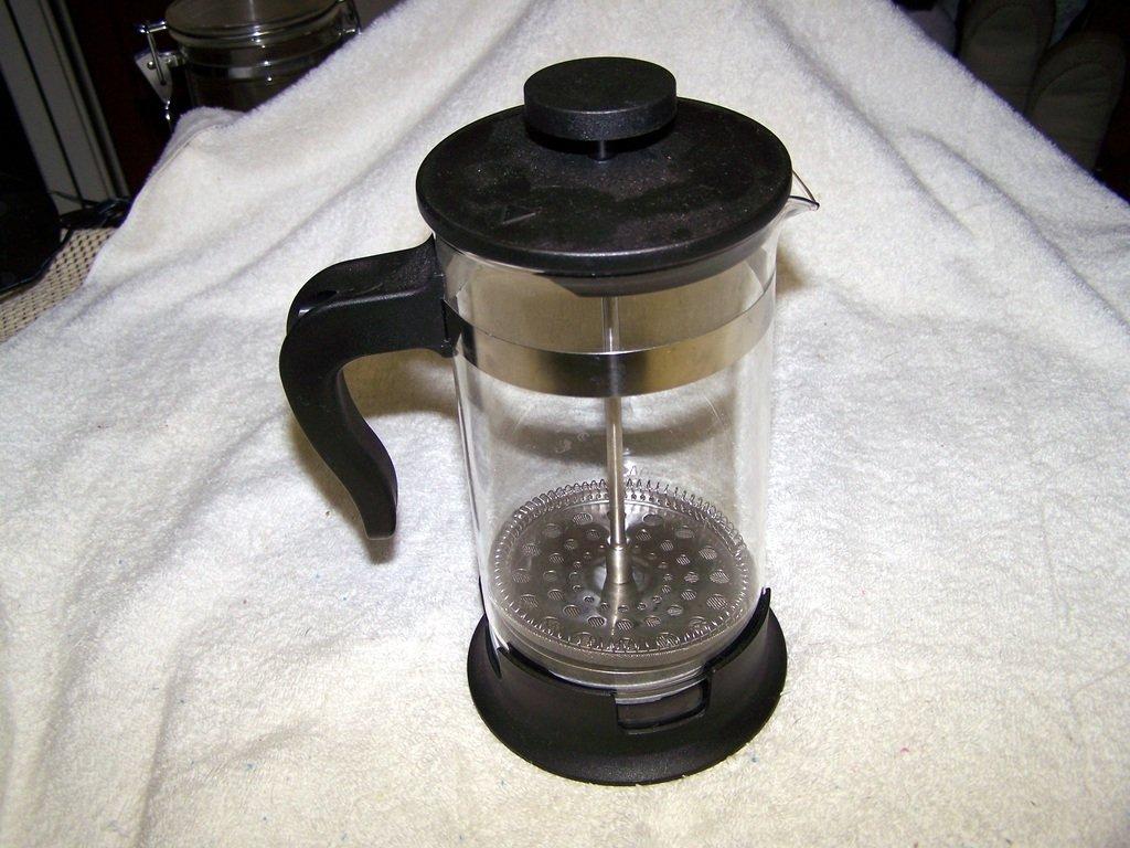 ikea upphetta glass french press coffee pot home garden kitchen dining tableware servers tea pots. Black Bedroom Furniture Sets. Home Design Ideas