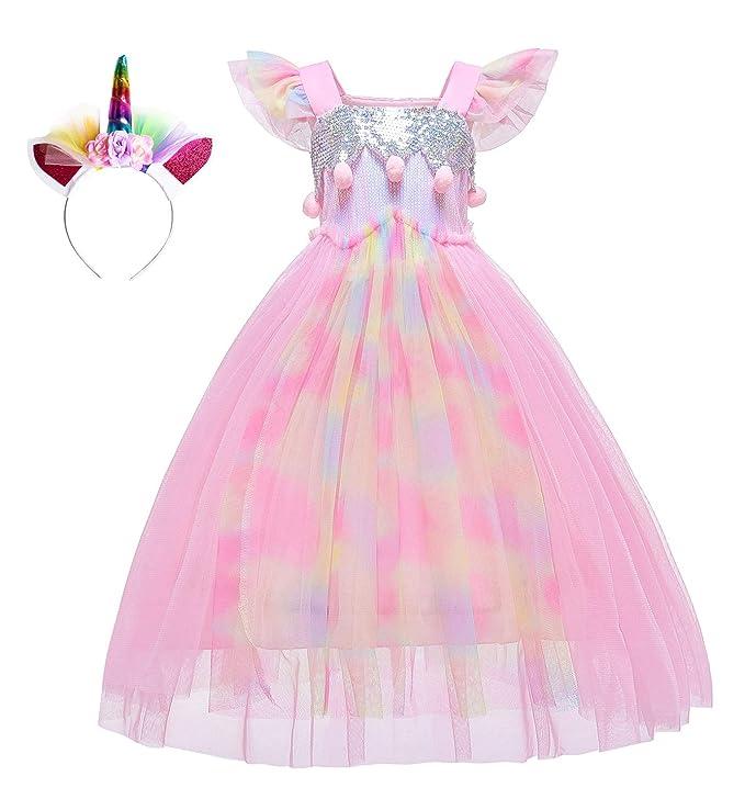 Vestido de Unicornio para niñas