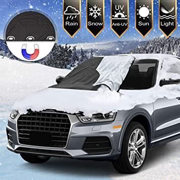 Dual Purpose Windscreen Cover Winter//Summer with Storage Bag fits VOLKSWAGEN vw