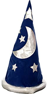 amazon com blue wizard hat available in merlin toys games