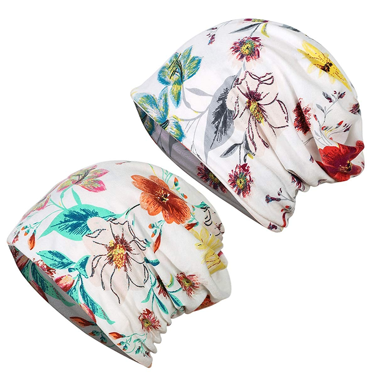 JarseHera Chemo Caps for Women Slouchy Beanie Casual Headcovers Headwear for Cancer Patients