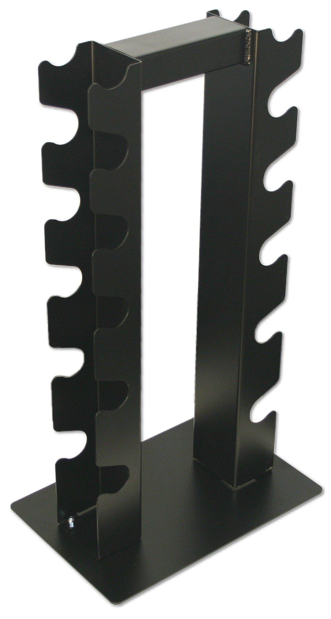 Deltech Fitness 6 Pair Vertical Dumbbell Rack by Deltech Fitness