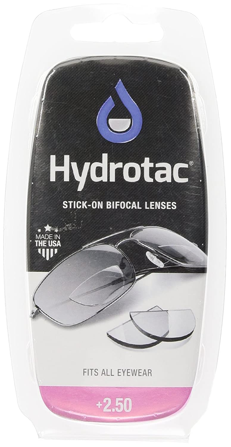 185e3e2793 Hydrotac Stick-On Bifocal Lenses (+2.50)  Amazon.co.uk  Health   Personal  Care