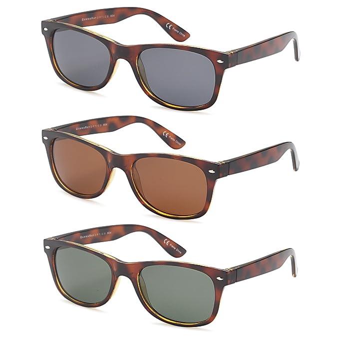 Gamma Ray Cheaters mejor valor polarizadas UV400 Wayfarer Estilo gafas de sol con lentes de espejo y opciones de multi pack: Amazon.es: Deportes y aire ...