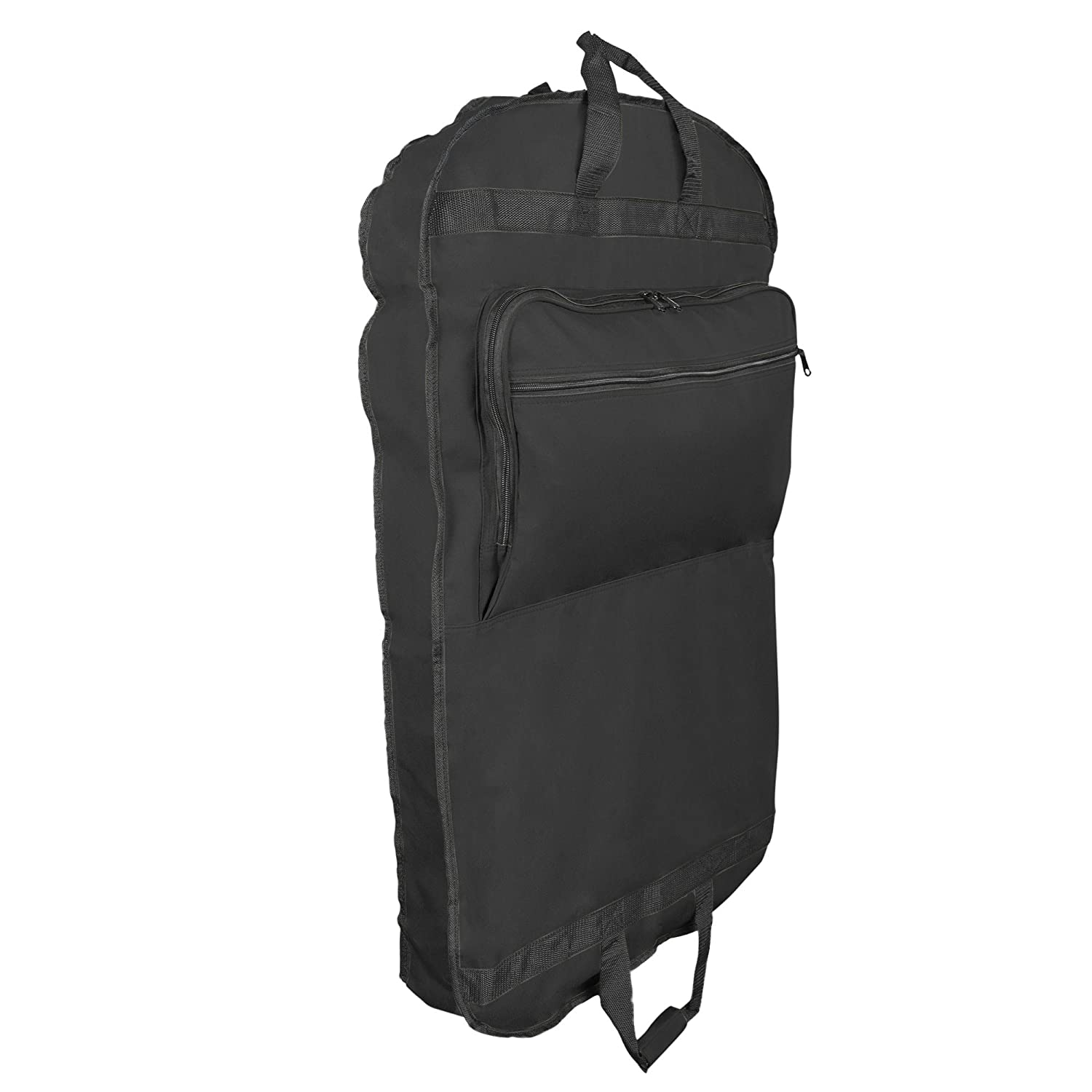 39 Business Garment Bag Cover for Suits and Dresses Clothing Foldable w Pockets DALIX GB-001-Black