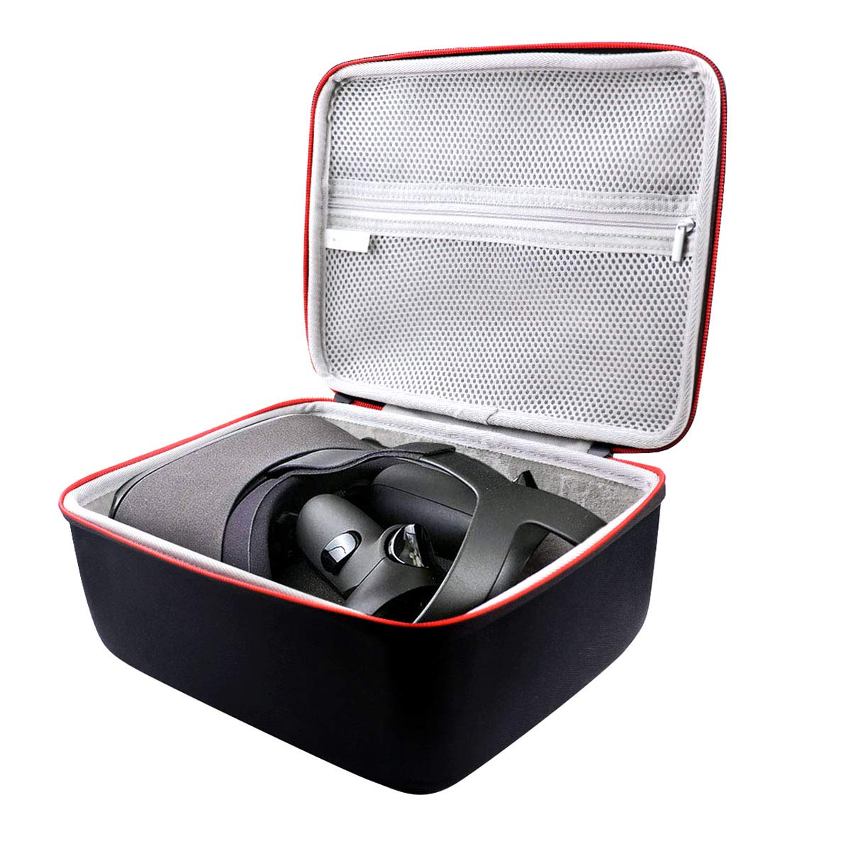 Asafez Travel Carrying Case Fits for Oculus Quest VR Gaming Headset and Accessories